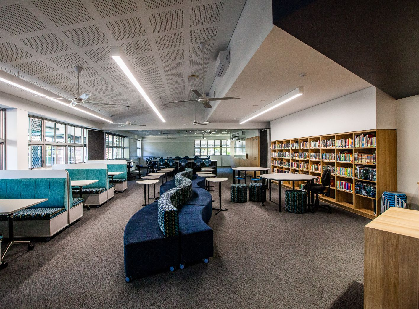 victoria point high school library