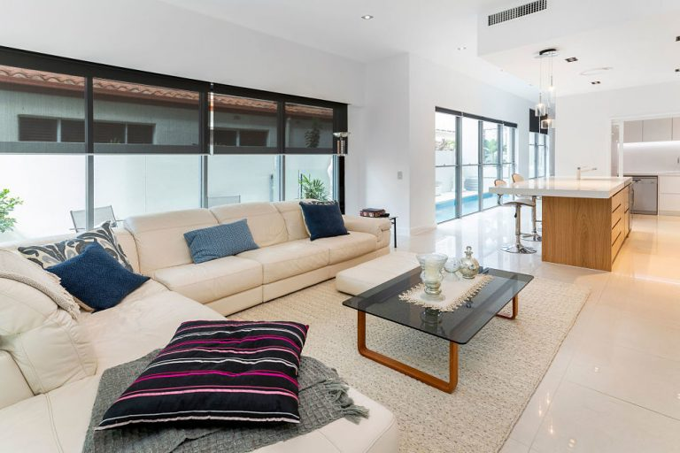 living room refurbishment