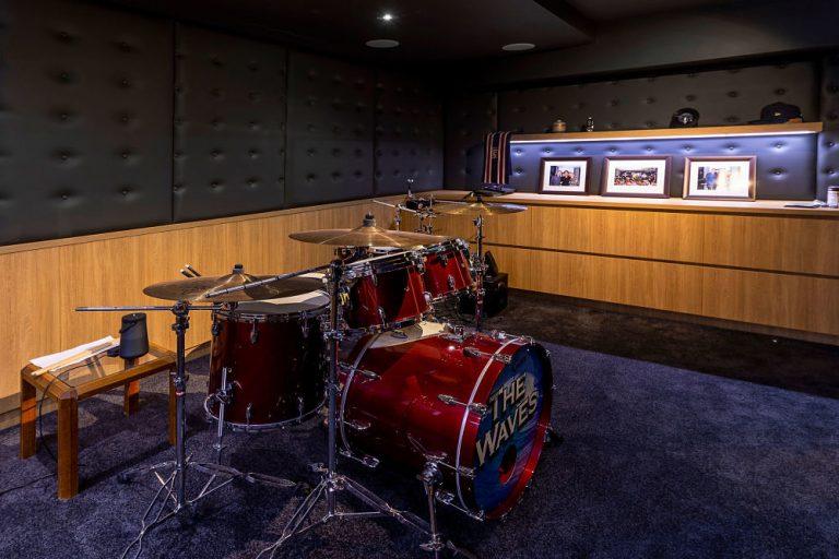 home drum room