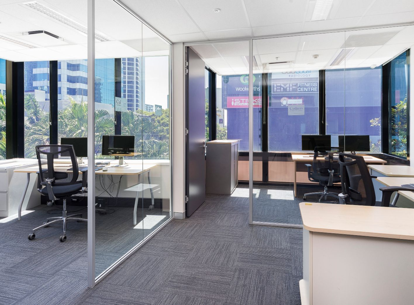 Office Glass Wall