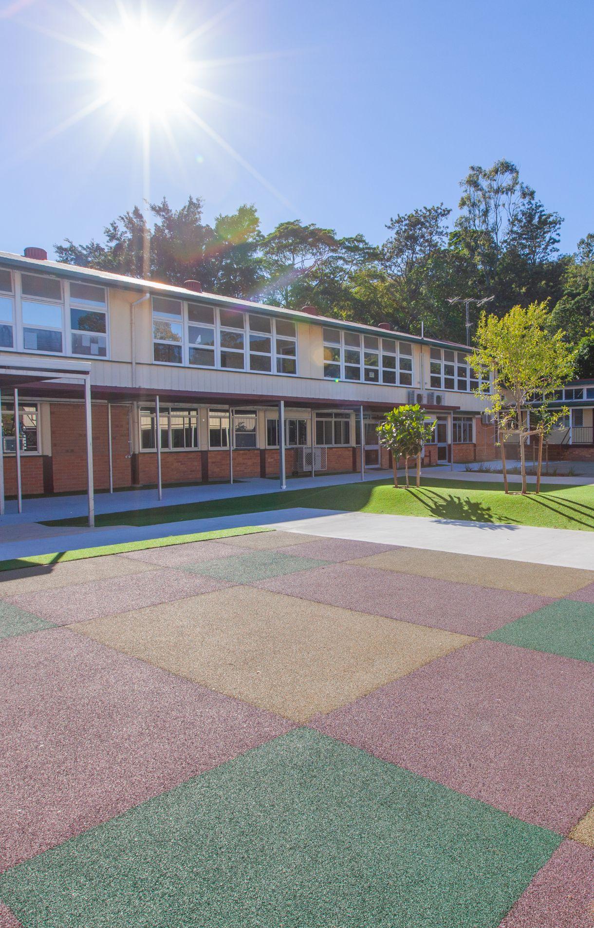 school outdoor upgrade