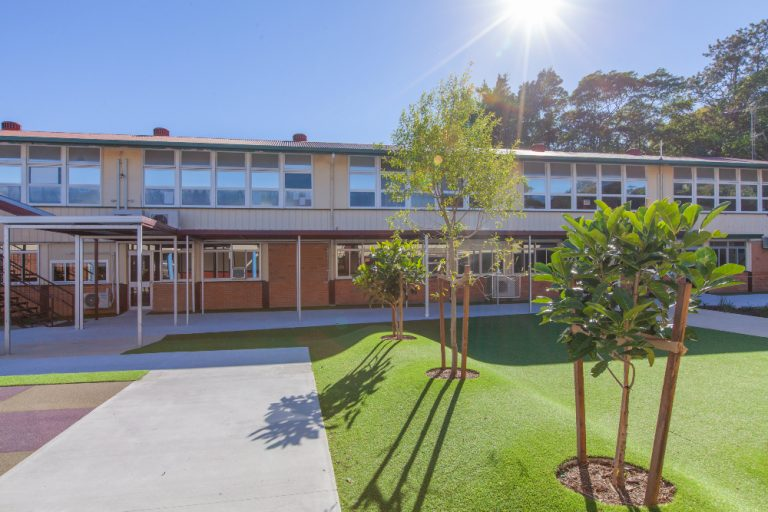 school landscaping