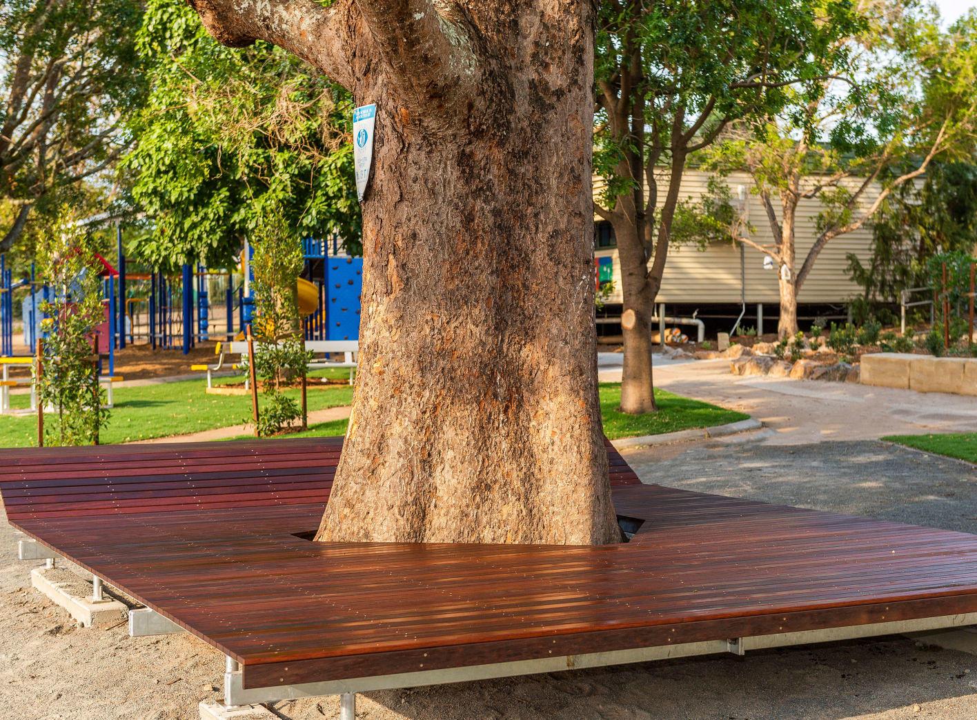 Timber Seating Upgrade